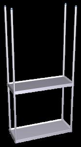 estanteria suspendida